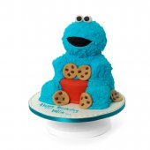 Cookie Monster Cake - online cakes