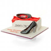 Jimmy Choo Shoes with Shoe Box - online cakes