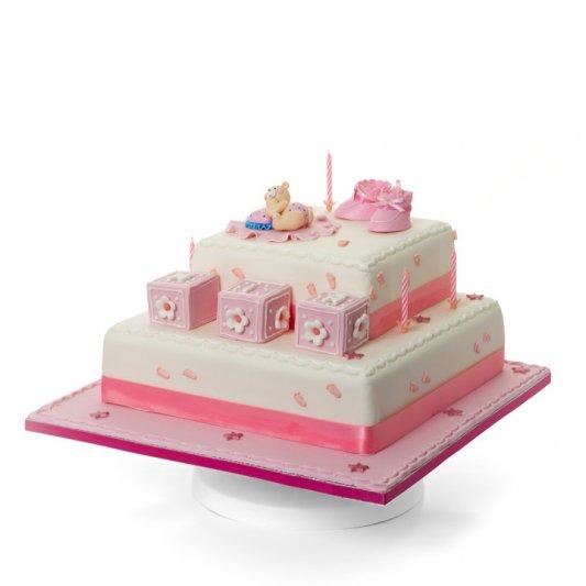 Building Blocks Cake   Baby Shower & Christening Cakes