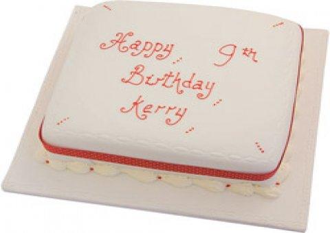 Written Cakes