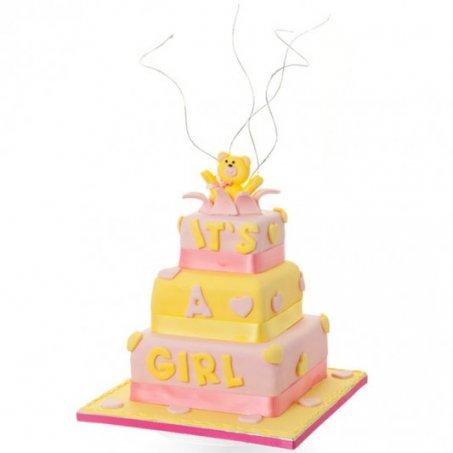 Bears Baby Shower Cake Janes Pantry