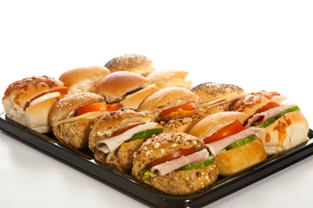 Assorted Roll Platter | Janes Pantry