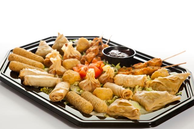 Vegetarian Platter | Janes Pantry