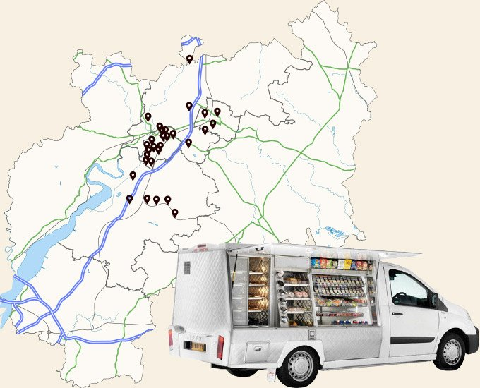 janes pantry van delivery